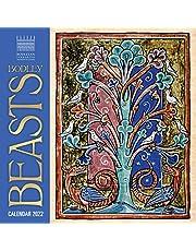 Bodleian Library - Bodley Beasts Wall Calendar 2022 (Art Calendar)