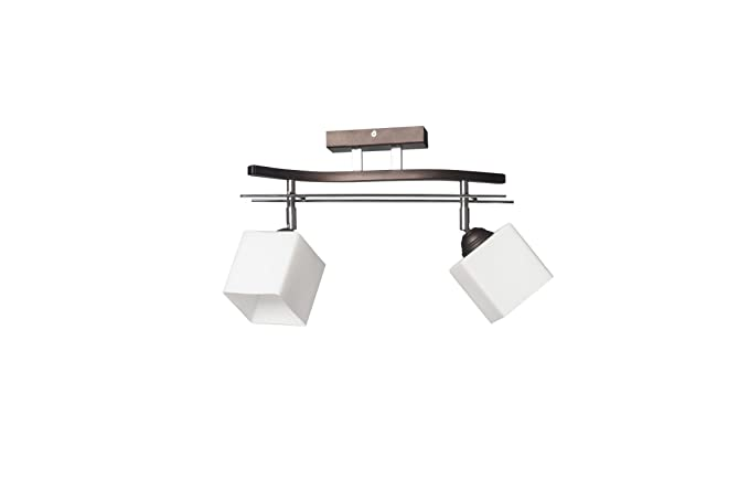 Bauhaus - Lámpara de techo (b40 cm, diseño Hogar, en marrón ...