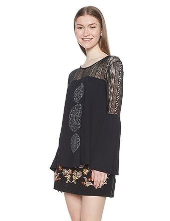 5d0c0dad4d72f Desigual Women s Ts neusifu T-Shirt  Amazon.co.uk  Clothing