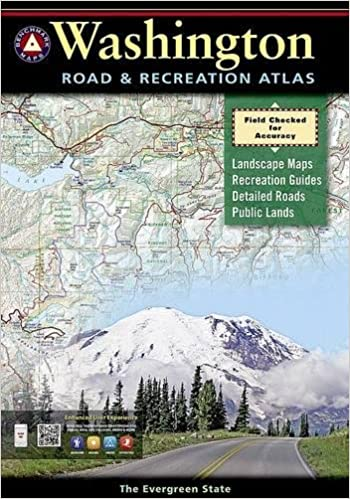 Washington Benchmark Road Recreation Atlas Benchmark Maps
