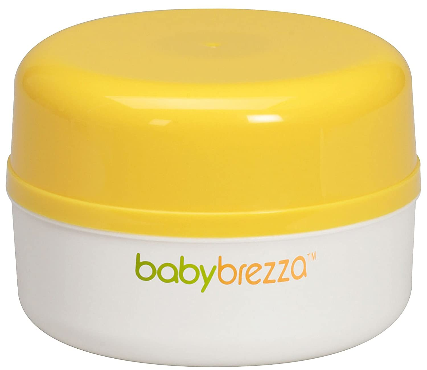 Baby Brezza Travel Capsule - A Complete Travel Meal Set in Yellow