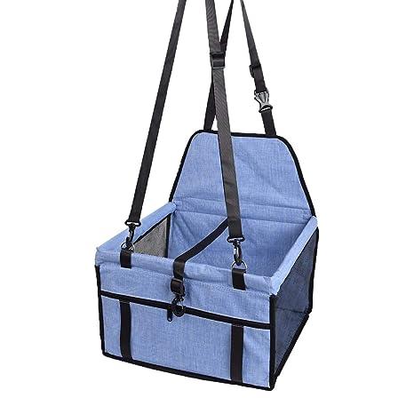 Bolsa de viaje plegable con cintur/ón de seguridad para mascotas Prime Paws/®