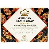 Nubian African Black Soap Bar Pack of 5
