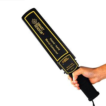 malxs AR954 super-main sensibilidad ajustable – Detector de metales, Wand escáner portátil Vibration
