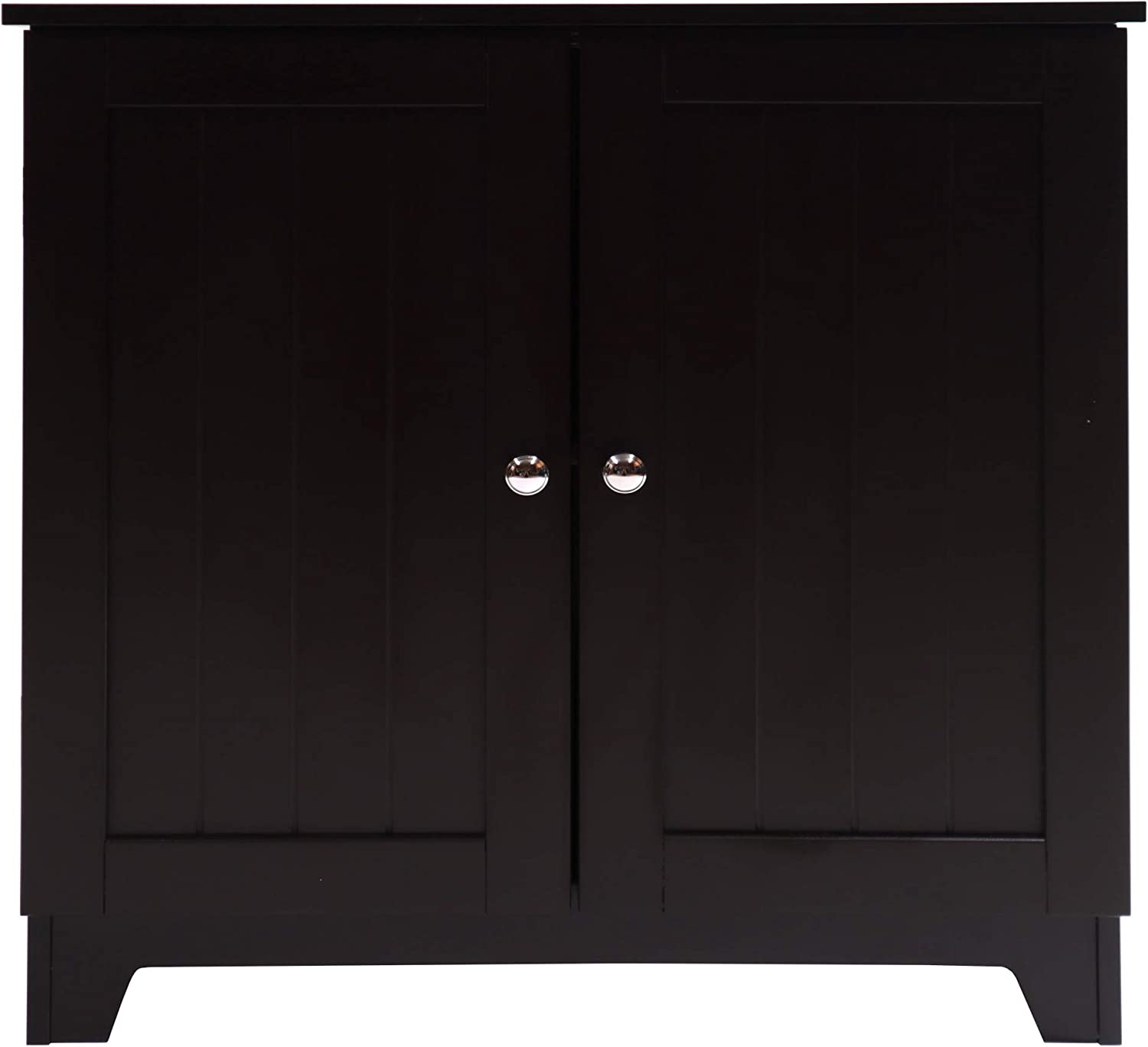 Redmon since 1883 Contemporary Country Double Door Cabinet, One Size, Espresso
