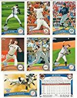 2011 Topps Opening Day MLB Baseball Series Complete Mint 220 Card Set Loaded with Stars Including Mickey Mantle Derek Jeter and Others