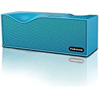 Sardine Portable Wireless Bluetooth Speakers with FM Radio, Support TF card ,Powerful Sound Bluetooth Speaker for Apple iPhone, iPad, Samsung GALAXY Series, Bluetooth Speaker with Enhanced Bass(Blue)