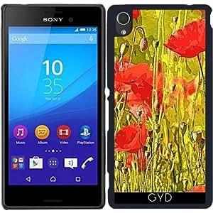 Funda para Sony Xperia M4 Aqua / Aqua DUAL - Amapolas En El Prado by More colors in life