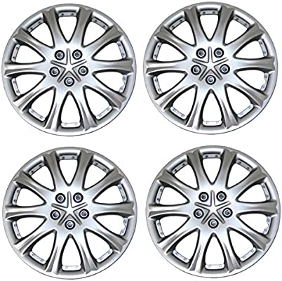 Amazon.com: Tuningpros WC3-15-503-S - Pack of 4 Hubcaps - 15-Inches Style 503 Snap-On (Pop-On) Type Metallic Silver Wheel Covers Hub-caps: Automotive