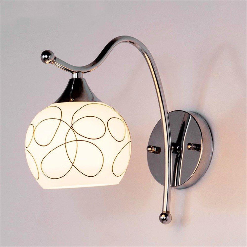 Modern LED Wandleuchte Nachttischlampe wandleuchte kinderzimmer schlafzimmer wohnzimmer gang flur lampe kreative lampenbreite 13 cm hoch 22 cm kaffee.Vintage Retro Café Loft Bar Flurlampe.