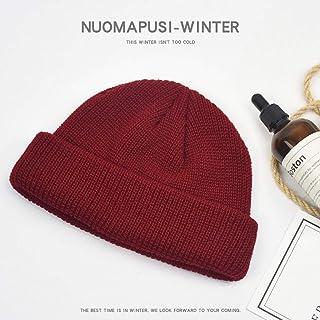 ZDD Versione Coreana di Cappello Invernale di Lana Cappello Street Hip-Hop Baotou Cappello Freddo Marea (Colore : Marina, Dimensioni : One Size)