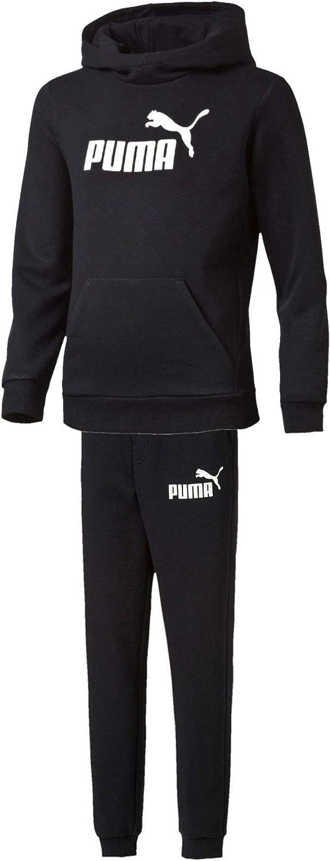 PUMA Essential Logo - Chándal Deportivo con Capucha para niños ...