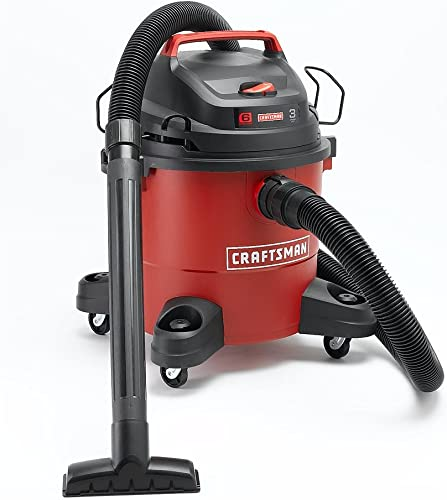 Craftsman 6 Gallon 3 Peak Horse Power HP Wet Dry Vac 12004 Workshop