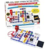 Snap Circuits Extreme 750-in-1 with Computer Interface and Student & Teacher Guides | Great for STEM Curriculum | No Storage Case | Electronics Discovery Kit