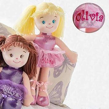 Amazon.com: Dibsies - Muñeca de bailarina personalizada ...