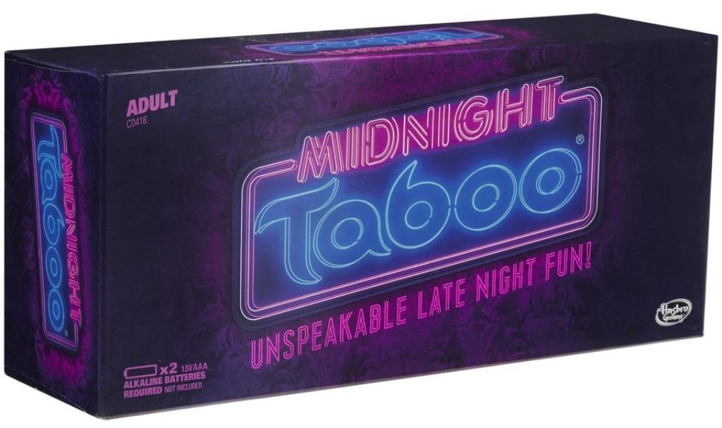 Hasbro Midnight Taboo Game
