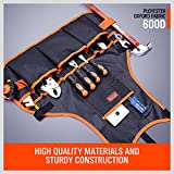 HORUSDY Utility Canvas Work Apron with 16