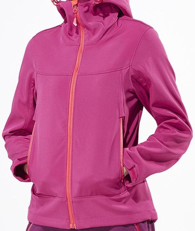 Honey GD Windproof Hooded Full-Zip Jacket Hoodie Ski Jacket