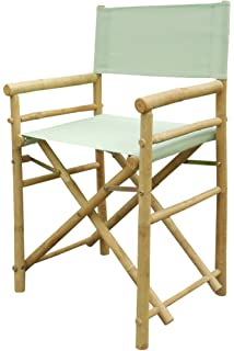 Bamboo 18 Inch Standard Height Directors Chairs With Solid Cover