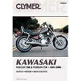 Clymer Kawasaki Twins 700-750 Vulcan Manual M356-5