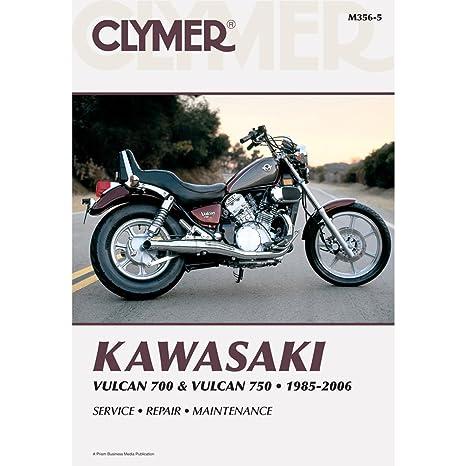 amazon com clymer kawasaki twins 700 750 vulcan manual m356 5 rh amazon com kawasaki vulcan 750 repair manual kawasaki vulcan 750 repair manual