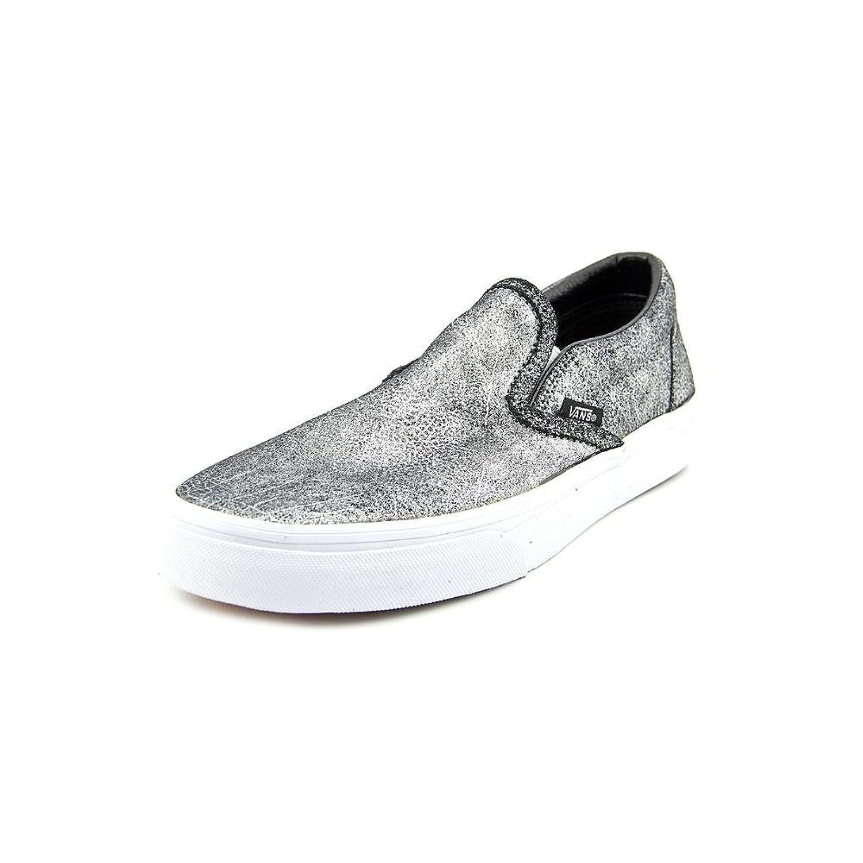 f5254faaed Vans Unisex Classic Slip-On Metallic Silver  Amazon.co.uk  Shoes   Bags