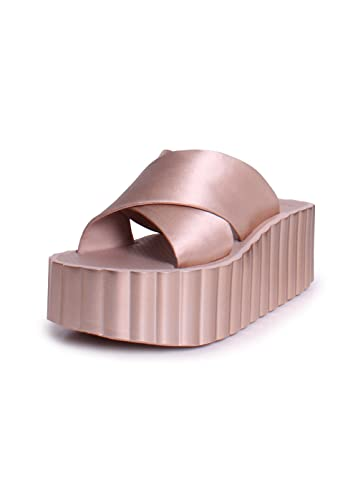 Tory Burch Women's Scallop Platform Slide Sandal JtDzt