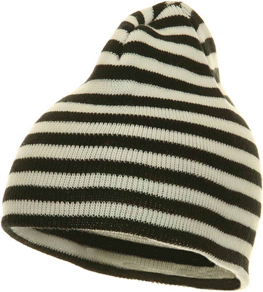 Bee Stripes Slouchy Beanie