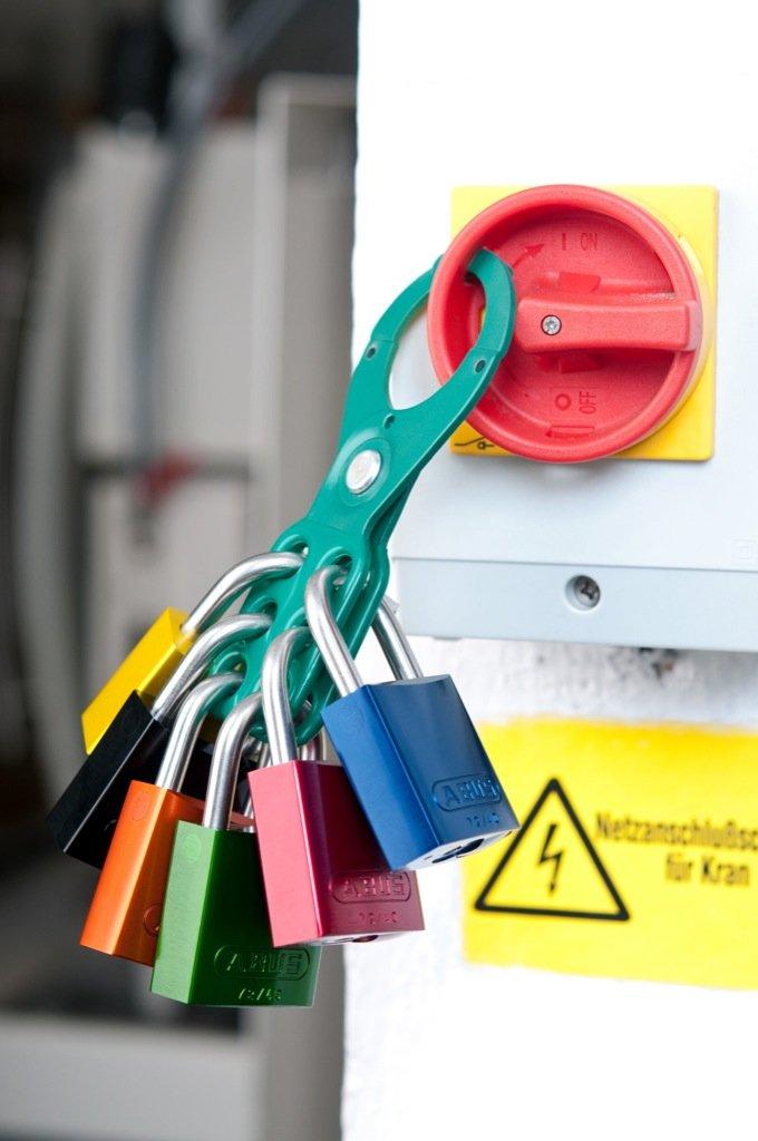 ABUS 72/30 KA Safety Lockout Aluminum Keyed Alike Padlock, Purple by ABUS (Image #4)
