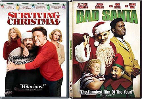 Surviving Christmas.Amazon Com Bad Santa Holiday Dvd Bundle Surviving Christmas