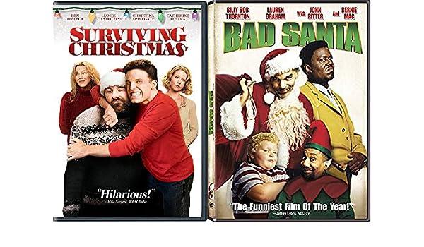 Amazoncom Bad Santa Holiday Dvd Bundle Surviving Christmas Double