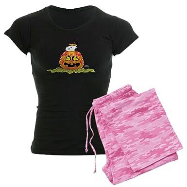 51d56e89794 CafePress - Day of The Dead Snoopy Pumpk - Womens Novelty Cotton Pajama  Set