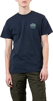 Vans Camiseta Holder Street II DRS Azul Hombre: Amazon.es: Ropa y accesorios