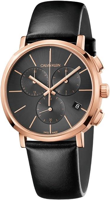ejemplo de reloj para hombre calvin klein