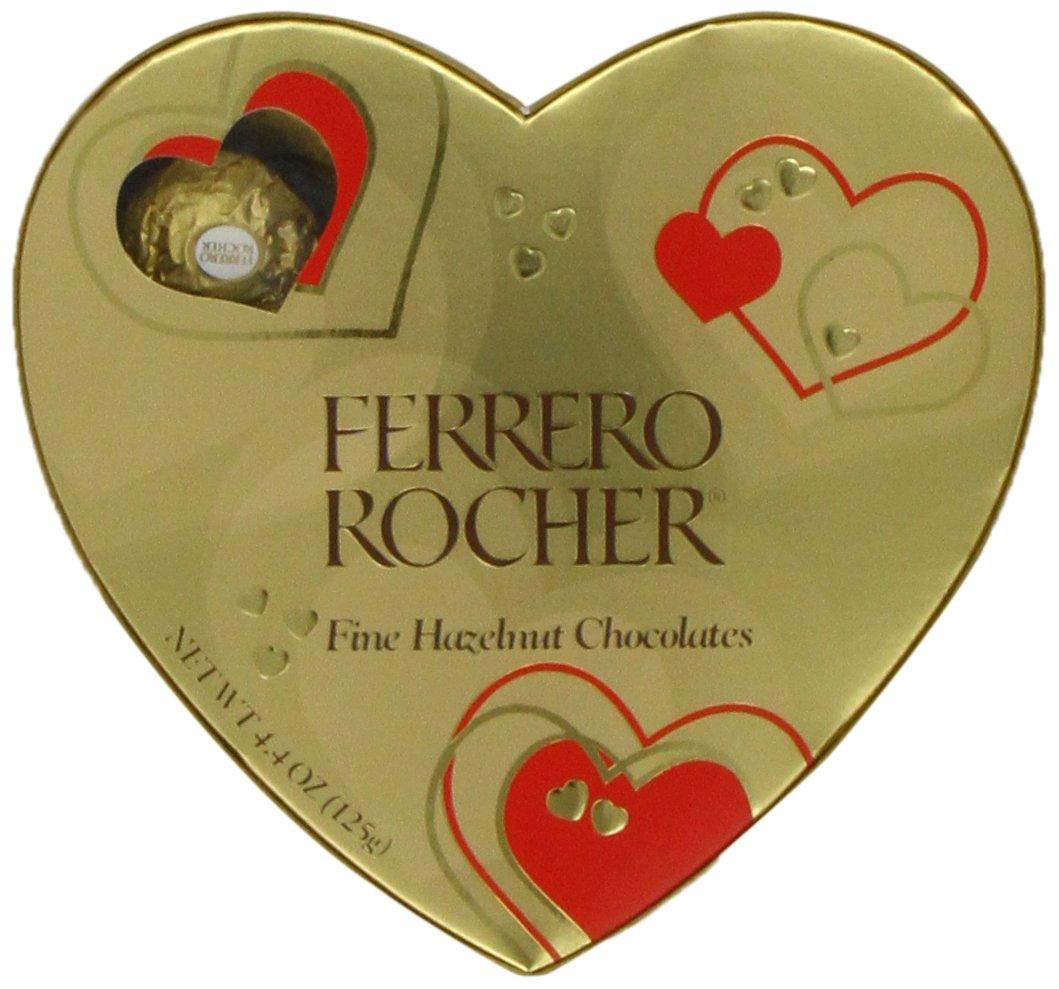 Amazon.com : Ferrero Rocher Heart, 10 Count : Gourmet Chocolate ...