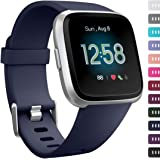 Ouwegaga Bands Compatible with Fitbit Versa/Versa Lite/SE Water Resistant Sport Straps Multi Color Combo