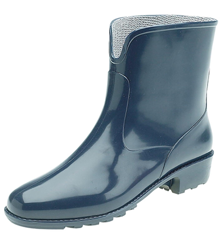 Womens Ladies Stormwells Short Ankle Length Wellington Wellies Boots UK 3 -  8