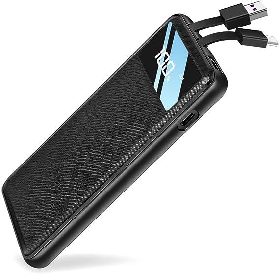 Amazon.com: Elzle - Cargador portátil ultrafino de 10000 mAh ...
