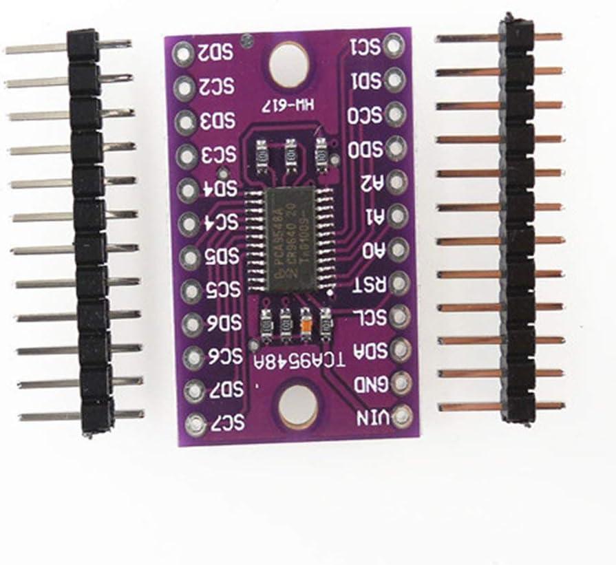 Leoboone TCA9548 TCA9548A 1-to-8 I2C 8 Way Multi-channel Expansion Board IIC Module Development Board Module TCA9548