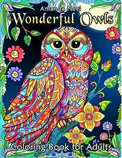 Amazon Com Creative Haven Owls Coloring Book Adult Coloring