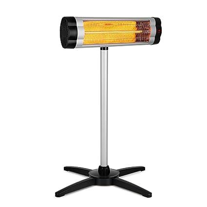 Blumfeldt Rising Sun • radiador infrarrojo • elemento calefactor de carbono • emisión de calor dirigida