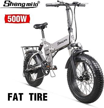 Shengmilo Bicicleta de montaña eléctrica 2020 500W * 48V * 15Ah ...
