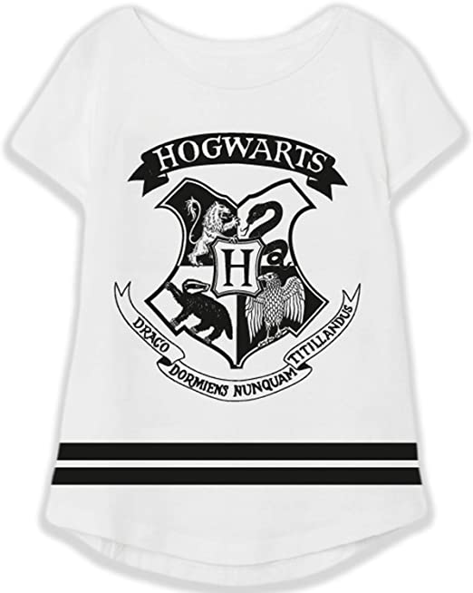 Girls Harry Potter Dont Let The Muggles Get You Down T-Shirt Top Sizes from 5 to 12 Years