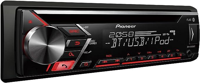 Radio del coche del Pioneer MVH-S510BT Bluetooth USB MP3 iPod AUX-IN