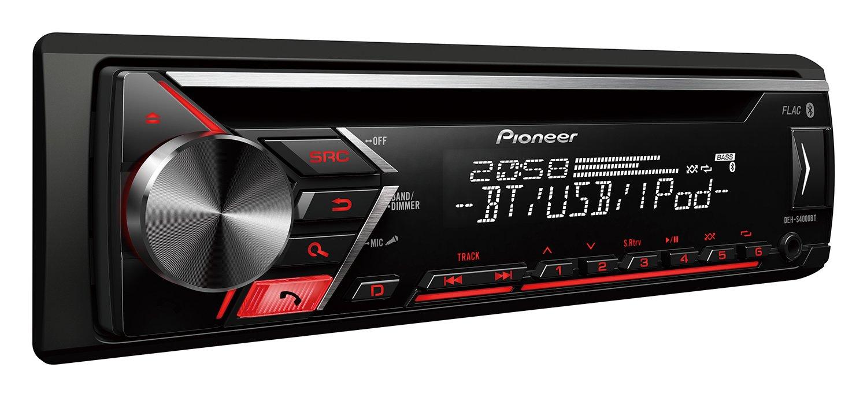 Pioneer DEH-S4000BT - Autorradio, Color Negro: Pioneer: Amazon.es: Electrónica