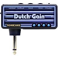 SONICAKE Mini amplificador de auriculares para guitarra de bolsillo portátil recargable Dutch Gain