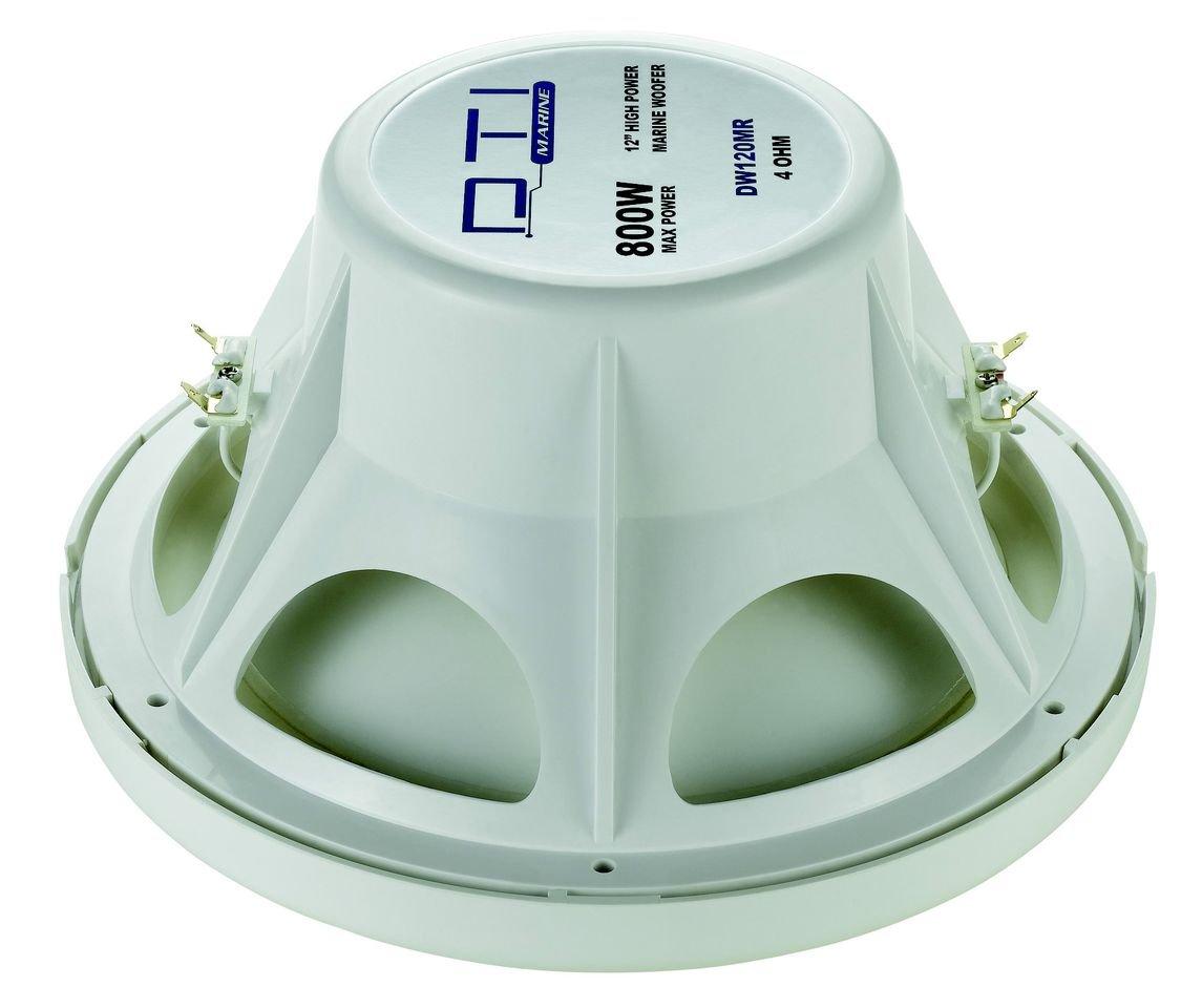 DTI Car Audio DTIDW120MR 12-Inch 4 Ohm High Power Marine Woofer