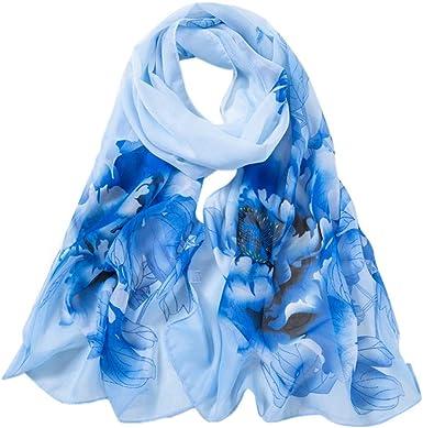 Lingyan chiffon sciarpa donna primavera sciarpa chiffon seta sciarpa estivo elegante Liscia Leggero Moda Morbido Spiaggia Accessori 160x50cm