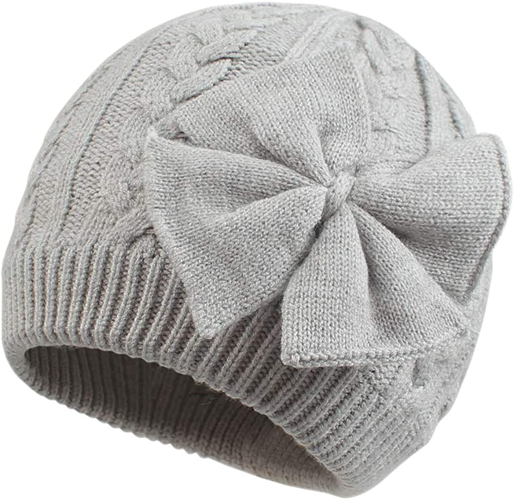 Cotrios Baby Winter Hat Soft Warm Knitted Infant Toddler Beanies Hats for Kids Boys Girls