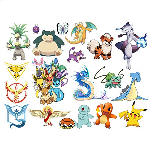 Home Décor Wall Stickers Cartoon Character Removable Wall Art Decals Animal for Kids Boys Girls -